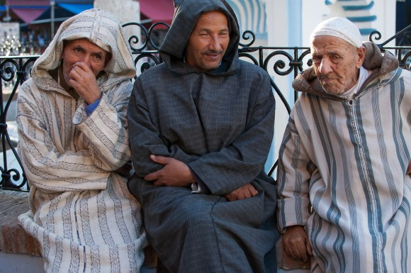 Men of Chefchaouen