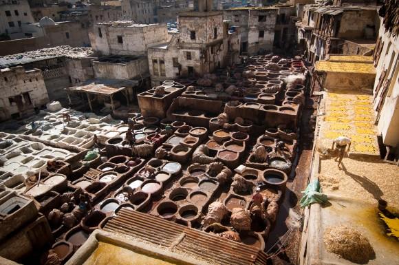 Dye Pits of Fez | 1