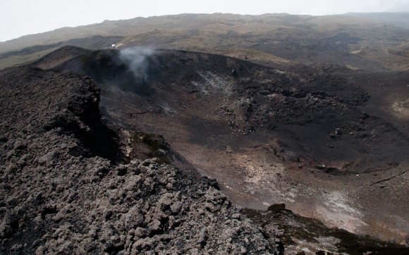 Crater of Mt. Cameroon
