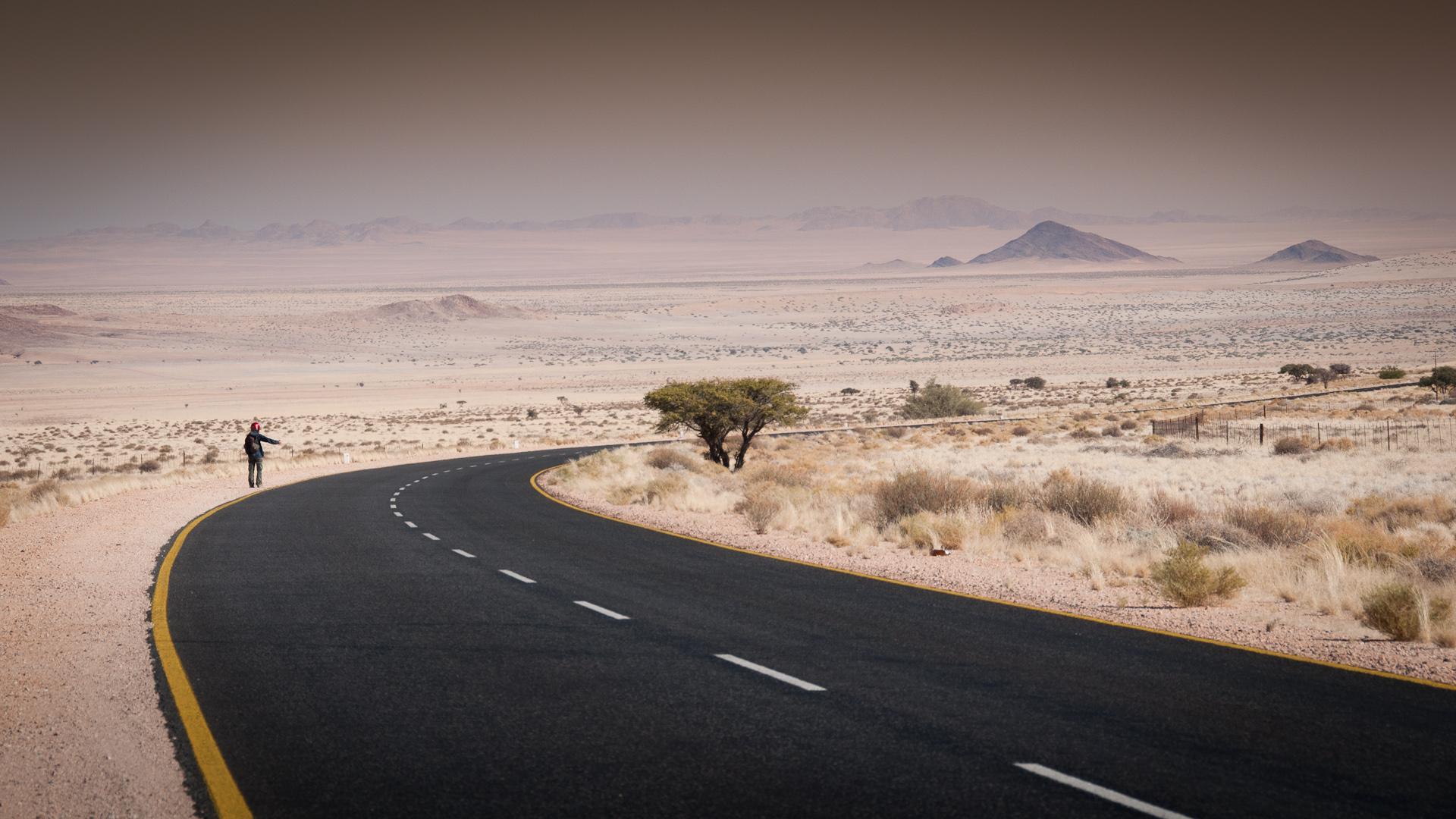 Panoptikum pouště namibijské
